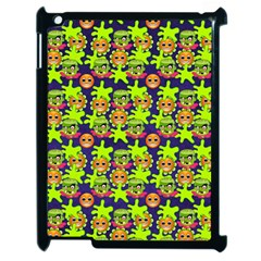 Smiley Monster Apple Ipad 2 Case (black) by BangZart