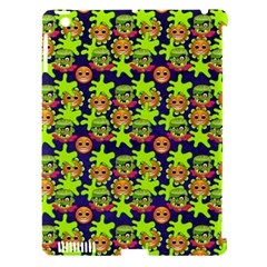 Smiley Monster Apple Ipad 3/4 Hardshell Case (compatible With Smart Cover) by BangZart