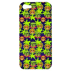 Smiley Monster Apple Iphone 5 Hardshell Case by BangZart
