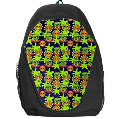 Smiley Monster Backpack Bag by BangZart