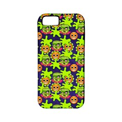 Smiley Monster Apple Iphone 5 Classic Hardshell Case (pc+silicone)