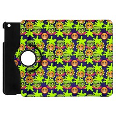 Smiley Monster Apple Ipad Mini Flip 360 Case