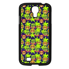 Smiley Monster Samsung Galaxy S4 I9500/ I9505 Case (black) by BangZart
