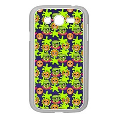 Smiley Monster Samsung Galaxy Grand Duos I9082 Case (white)