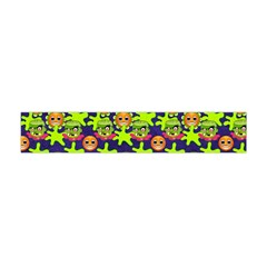 Smiley Monster Flano Scarf (mini) by BangZart