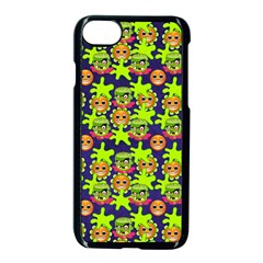 Smiley Monster Apple Iphone 7 Seamless Case (black) by BangZart
