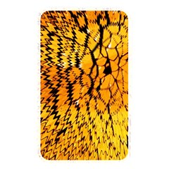 Yellow Chevron Zigzag Pattern Memory Card Reader by BangZart