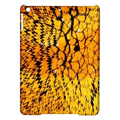 Yellow Chevron Zigzag Pattern Ipad Air Hardshell Cases by BangZart