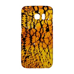 Yellow Chevron Zigzag Pattern Galaxy S6 Edge