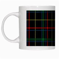 Tartan Plaid Pattern White Mugs by BangZart