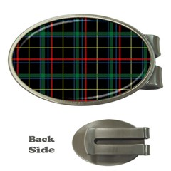 Tartan Plaid Pattern Money Clips (oval)  by BangZart