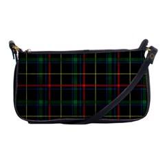 Tartan Plaid Pattern Shoulder Clutch Bags by BangZart