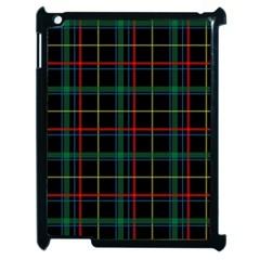 Tartan Plaid Pattern Apple Ipad 2 Case (black) by BangZart