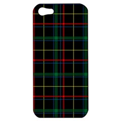 Tartan Plaid Pattern Apple Iphone 5 Hardshell Case by BangZart