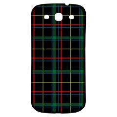 Tartan Plaid Pattern Samsung Galaxy S3 S Iii Classic Hardshell Back Case by BangZart