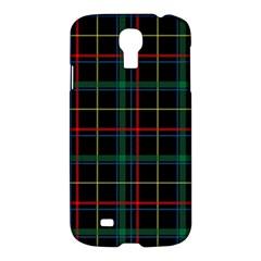 Tartan Plaid Pattern Samsung Galaxy S4 I9500/i9505 Hardshell Case