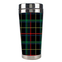 Tartan Plaid Pattern Stainless Steel Travel Tumblers by BangZart