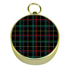 Tartan Plaid Pattern Gold Compasses by BangZart