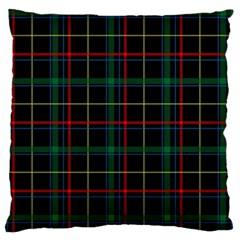 Tartan Plaid Pattern Standard Flano Cushion Case (two Sides)