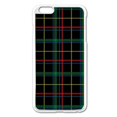 Tartan Plaid Pattern Apple Iphone 6 Plus/6s Plus Enamel White Case by BangZart