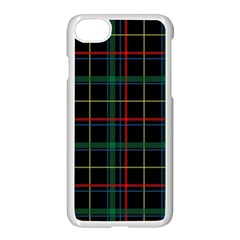 Tartan Plaid Pattern Apple Iphone 7 Seamless Case (white) by BangZart