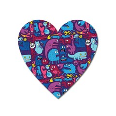 Hipster Pattern Animals And Tokyo Heart Magnet by BangZart