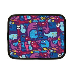 Hipster Pattern Animals And Tokyo Netbook Case (small)