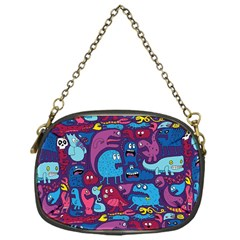 Hipster Pattern Animals And Tokyo Chain Purses (one Side)  by BangZart