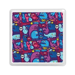 Hipster Pattern Animals And Tokyo Memory Card Reader (square)  by BangZart