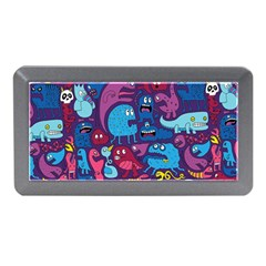 Hipster Pattern Animals And Tokyo Memory Card Reader (mini)