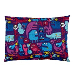 Hipster Pattern Animals And Tokyo Pillow Case (two Sides) by BangZart