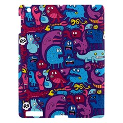 Hipster Pattern Animals And Tokyo Apple Ipad 3/4 Hardshell Case