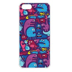 Hipster Pattern Animals And Tokyo Apple Iphone 5 Seamless Case (white)
