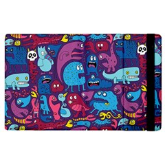 Hipster Pattern Animals And Tokyo Apple Ipad 3/4 Flip Case by BangZart