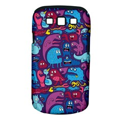 Hipster Pattern Animals And Tokyo Samsung Galaxy S Iii Classic Hardshell Case (pc+silicone)