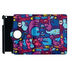 Hipster Pattern Animals And Tokyo Apple Ipad 3/4 Flip 360 Case by BangZart