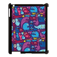 Hipster Pattern Animals And Tokyo Apple Ipad 3/4 Case (black) by BangZart