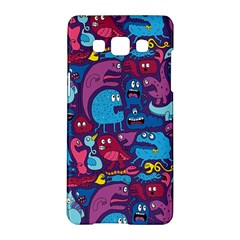 Hipster Pattern Animals And Tokyo Samsung Galaxy A5 Hardshell Case  by BangZart