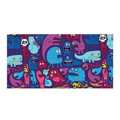 Hipster Pattern Animals And Tokyo Satin Wrap by BangZart