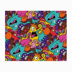 Monster Patterns Small Glasses Cloth by BangZart