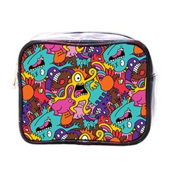 Monster Patterns Mini Toiletries Bags by BangZart