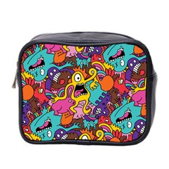 Monster Patterns Mini Toiletries Bag 2 Side