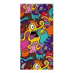 Monster Patterns Shower Curtain 36  X 72  (stall)  by BangZart