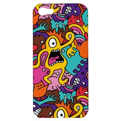 Monster Patterns Apple Iphone 5 Hardshell Case by BangZart
