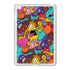 Monster Patterns Apple Ipad Mini Case (white) by BangZart