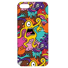 Monster Patterns Apple Iphone 5 Hardshell Case With Stand by BangZart