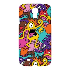 Monster Patterns Samsung Galaxy S4 I9500/i9505 Hardshell Case by BangZart