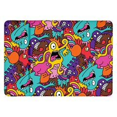Monster Patterns Samsung Galaxy Tab 8 9  P7300 Flip Case by BangZart