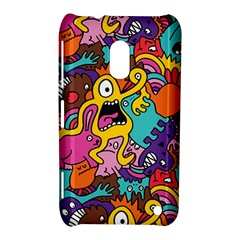 Monster Patterns Nokia Lumia 620 by BangZart