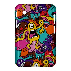 Monster Patterns Samsung Galaxy Tab 2 (7 ) P3100 Hardshell Case
